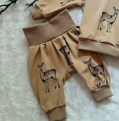 Langarm Shirt Babyshirt Pullover 68 74 80 86 92 98 Rehe Rehkitz Bambi