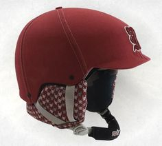 Cool snowboarding helmet!