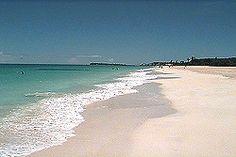 Runaway beach, Antigua beaches; NW coast. Many resorts, restaurants and bars; watersports, chairs & umbrellas