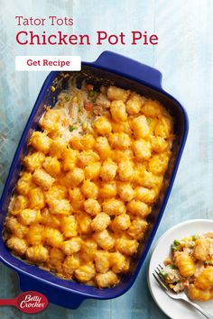 Yummy Chicken Recipes, Crockpot Recipes, Cooking Recipes, Chicken Pot Pie Casserole, Easy Casserole Recipes, Cheddar Cheese, Little Lunch, Health Dinner, Instant Pot Dinner Recipes