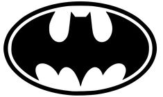 batman symbol here is a decal of the infamous batman symbol it is 4 by ...