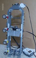 Aula Robótica: Proyecto de un ascensor para 4 pisos.Lego NXT