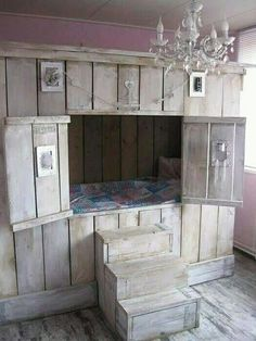 Strategy, formulas, as well as overview with regards to acquiring the greatest end result and attaining the optimum use of bunk bed designs Bunk Beds Small Room, Bunk Beds With Stairs, Kids Bunk Beds, Small Rooms, Alcove Bed, Hideaway Bed, Bunk Bed Designs, Dreams Beds, Loft Spaces