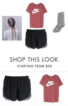 """""""Untitled #171"""" by sophie1229-1 on Polyvore featuring NIKE and Lands' End"""