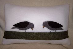 A small shop with pillows,wall hangings and framed art made from recycled woolen sweaters and blankets as well as nature-inspired linocut prints. Sparrows, Linocut Prints, Wool Blanket, Framed Art, Recycling, Snoopy, Pillows, Inspiration, Design