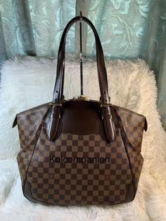 33f36b69c9235 100% Authentic LOUIS VUITTON Verona Damier Ebene MM Shoulder Bags Handbags   fashion  clothing