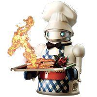 Cool wafflebot from Harold and Kumar
