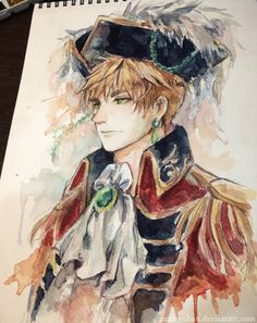 Pirate!England by Mano-chan on deviantART. Iamsoin…