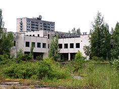 Chernobyl, Pripyat restaurant