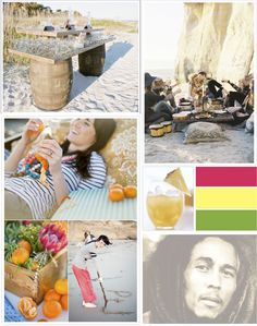 summertime party at beach ideas...time to sit back & unwind!