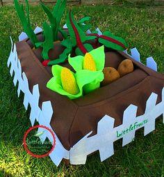 Kids Felt Play Garden   Felt Garden with Pickable by LittleFruits