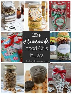 25+ Homemade Food Gifts in Jars