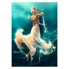 5.62AUD - 5D Diy Embroidery Dancers Diamond Painting Cross Stitch Home Decor 30X40Cm Gift #ebay #Home & Garden