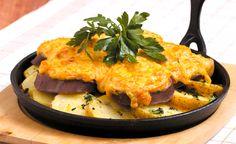 Язык, запеченный в сметанном соусе, с хреном и картофелем https://www.kakprosto.ru/kak-941637-yazyk-zapechennyy-v-smetannom-souse-s-hrenom-i-kartofelem
