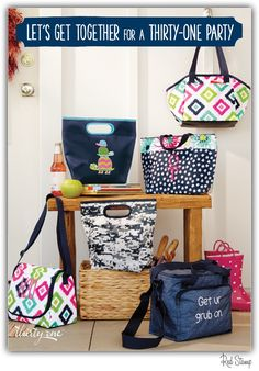 NEW Spring thermals in new prints. Shop or join me www.mythirtyone.com/apeterson86