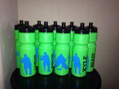 Personalized Hockey Sport Water bottle on Etsy, $9.00
