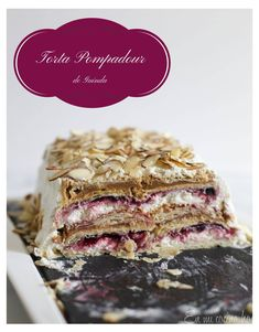 Easy Thousand Layers Cake - En Mi Cocina Hoy Pie Cake, No Bake Cake, Torta Pompadour, Chilean Recipes, Chilean Food, Thousand Layer Cake, Banana Cream Cakes, Sweet Recipes, Cake Recipes