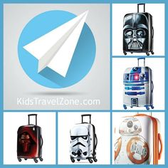 May the force be with you! Choose your side! Kids Luggage, Travel With Kids, Travel Style