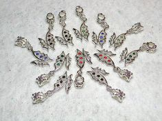 10 Euro Dangly Sparkly Butterfly's $5