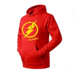 The Flash pullover hoodies for men cool sweatshirts long sleeve
