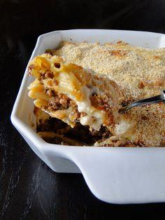 Pastitsio (Greek Meat & Macaroni Pie) -