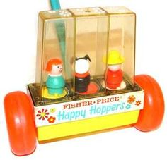 fisher price 1970's toys! I loved the little people!!