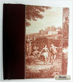 Libros unidos en serie Bookbinding http://petry.es/category/manolo/encuadernacion/