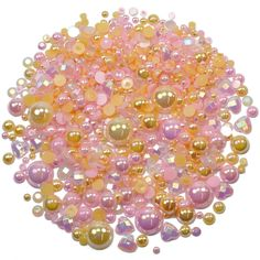 This embellishment pack contains a luscious mixture of rhinestones and pearls in tones of pink and peach The sparkly gems range in size from to Rose Champagne, Nail Decorations, Embellishments, Card Making, Peach, Packing, Gems, Range