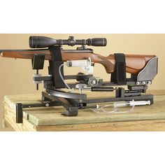Hyskore DLX Precision Shooting Rest with Remote Triggering - 167673, Shooting Rests at Sportsman's Guide
