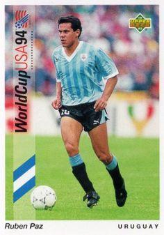 Ruben Paz URUGUAY Ruben Paz 5 Upper Deck 1994 World Cup USA