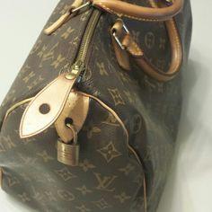 Louis Vuitton Handbags - Louis Vuitton 35 Speedy on Poshmark