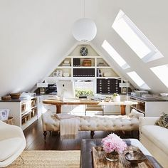 """8,620 Likes, 79 Comments - Studio McGee (@studiomcgee) on Instagram: """"#thesunday7 is on the blog! I'm scheming a way to incorporate an attic studio like this one in our…"""""""