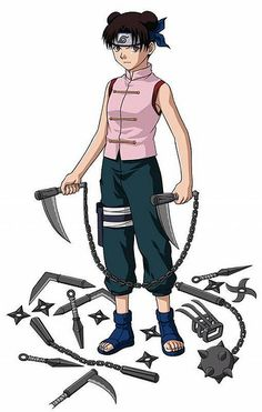 Naruto 30 day challenge. Day 21: Underrated character. Tenten she had to deal with Lee and Guy sensei as well as their pillar opposite Neji while training to be a weapons master.