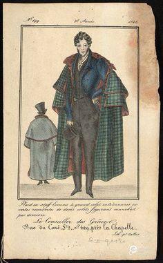 'Le Conseiller des Grâces', Tallois, rue du Curé, près de la Chapelle, 1826. Courtesy Bibliothèque royale de Belgique, all rights reserved.