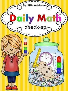 Daily Math for Kindergarten