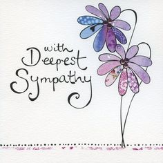 Happy monday monday good morning i hate mondays monday morning hand finished with deepest sympathy card product images m4hsunfo