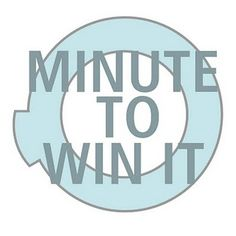 Minute to Win It Party......OH EMM GEE!!!! YES! Ethan will LOVE this idea