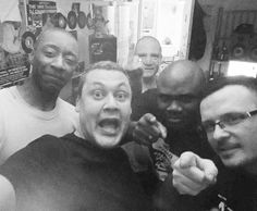 Birthday carnage with some of my favourite people. DJ Dexter (The Brotherhood) Colt 45 Naba Napalm (The Procryptix) and Giallo Point. #TheIncredibleDeeJayRandom #TheSteelDevils #TheFullClipShow #HipHop #Family #Rap #Birthday #DJ #DJLife #Scratching #Turntablism #Happy #45 #Live #Mixcloud #Mixlr #Legends #Fuckery by mrdeejayrandom http://ift.tt/1HNGVsC