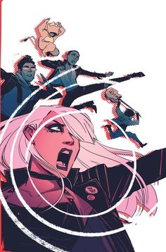Black Canary #7 cover by Annie Wu.