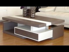 latest diy coffee table design ideas for modern living room furniture design sets 2019 wooden coffee table designs for new Indian home interior design trends. Coffee Table Design, Sofa Table Design, Modern Sofa Table, Living Room Sofa Design, Bedroom Furniture Design, Table Furniture, Modern Coffee Tables, New Furniture, Centre Table Living Room