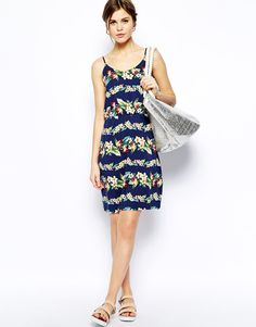 Image 4 of Oasis Tropical Cami Dress