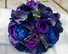 43 Ideas Vintage Wedding Ideas Purple Bridesmaid Bouquets For 2019 wedding Purple Bridesmaid Bouquets, Blue Bouquet, Blue Bridesmaids, Wedding Bouquets, Wedding Dresses, Bridesmaid Dresses, Vintage Wedding Flowers, Cheap Wedding Flowers, Wedding Colors