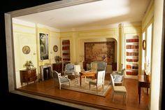 Dollhouse roombox created by designer Philippe Velu