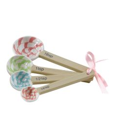 Lollipop Measuring Spoon Set @Pascale Lemay Lemay De Groof