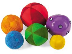 Soft & Washable Sensory Balls - great choice for toddler playtime!