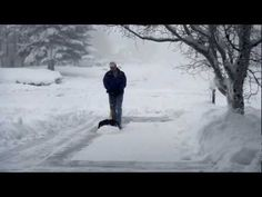 Nothing says Spring Break in Flagstaff, Arizona like 2 feet of snow. Here's a short video of the beauty of the storm and Jim Anderson frantically shoveling snow. He's pretty fast too. http://www.goalbusters.net
