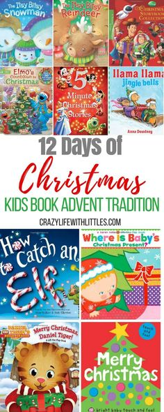 classic christmas books, best christmas picture books, christmas books for babies, 12 days of christmas Christmas Books For Kids, Llama Christmas, Toddler Christmas, Babies First Christmas, 12 Days Of Christmas, Christmas Countdown, A Christmas Story, Christmas Pictures, Baby Christmas Activities