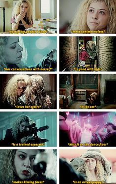 She is my absolute favorite Orphan Black clone. <3 Helena