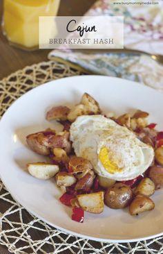 Cajun Breakfast Hash