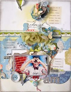 A layout using Webster's Pages 'All About Me' by Emma Trout